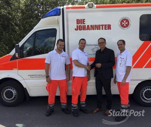 Neuer Rettungswagen Im Johanniter Einsatz Rodgau Post