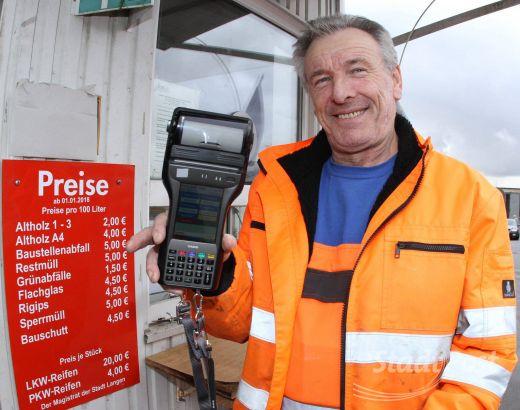 Mobiles Kassensystem Auf Dem Wertstoffhof Stadtpost Langenegelsbach